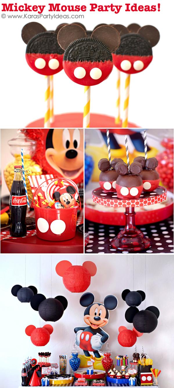 Mickey Mouse 1st Birthday Cake Ideas