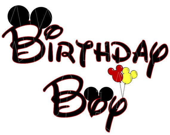 Mickey Mouse Clubhouse Birthday Clip Art