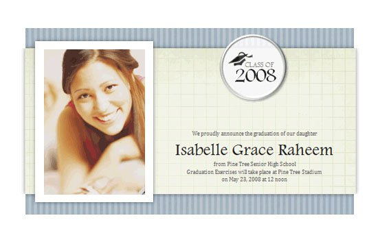 Microsoft Office Templates Graduation Invitation