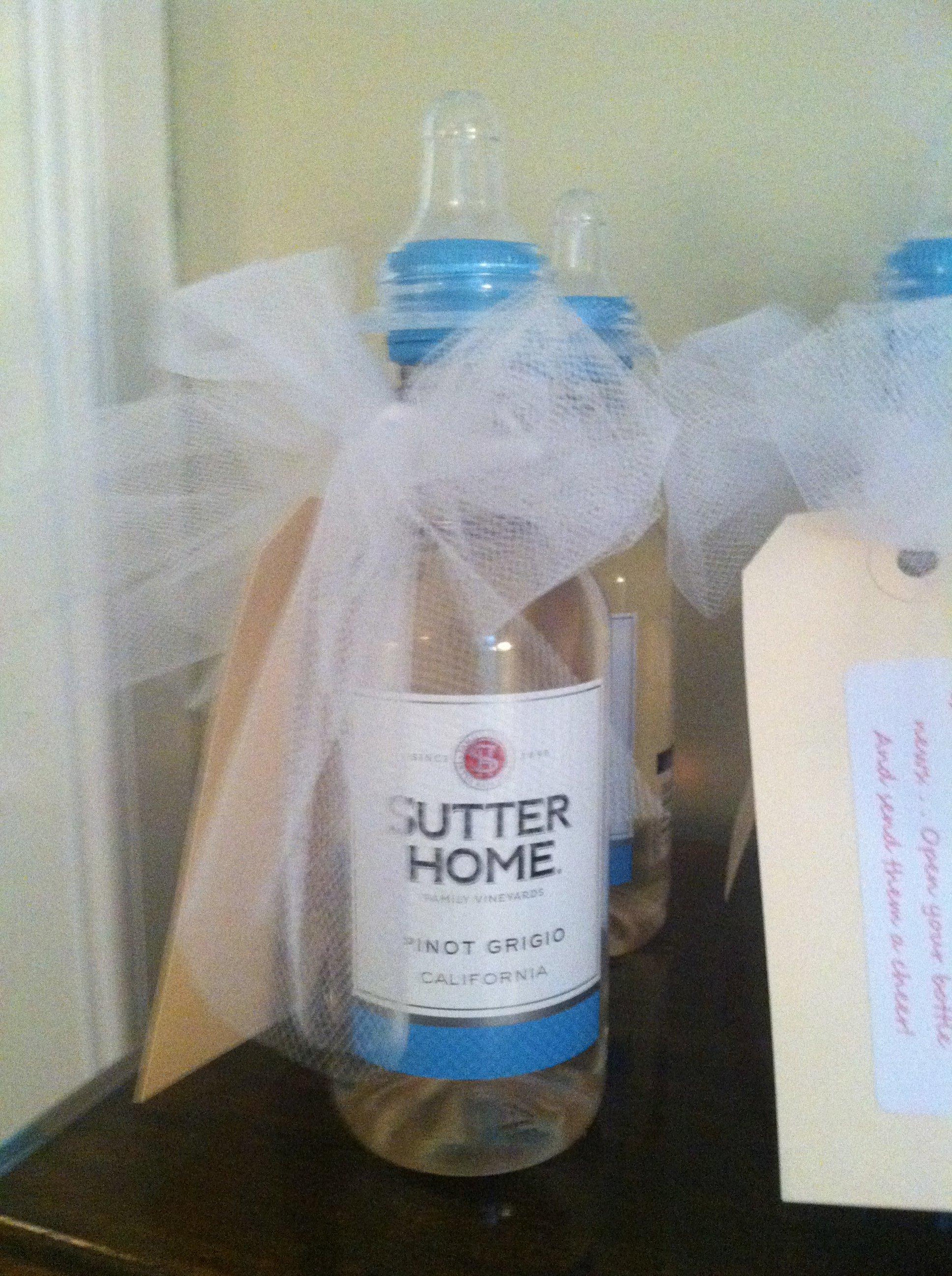 Mini Wine Bottle Invitations