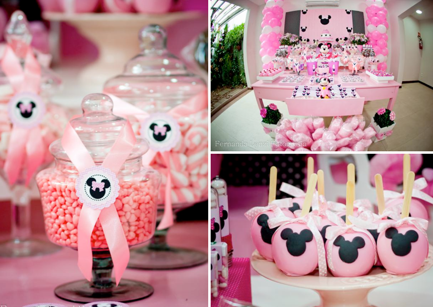Minnie Mouse Baby Shower Decorations Ideas