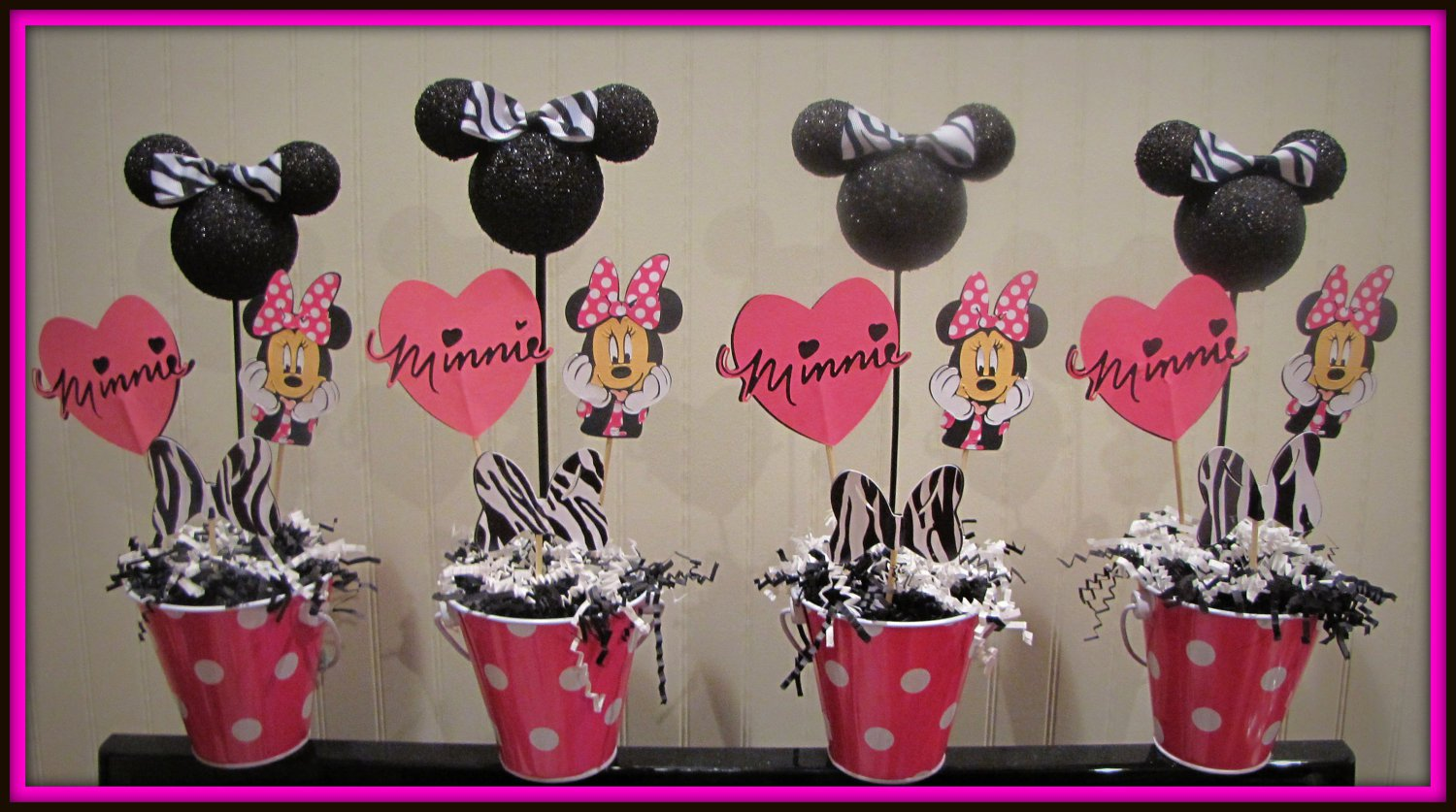 Minnie Mouse Baby Shower Decorations Mouse Bday Decorations