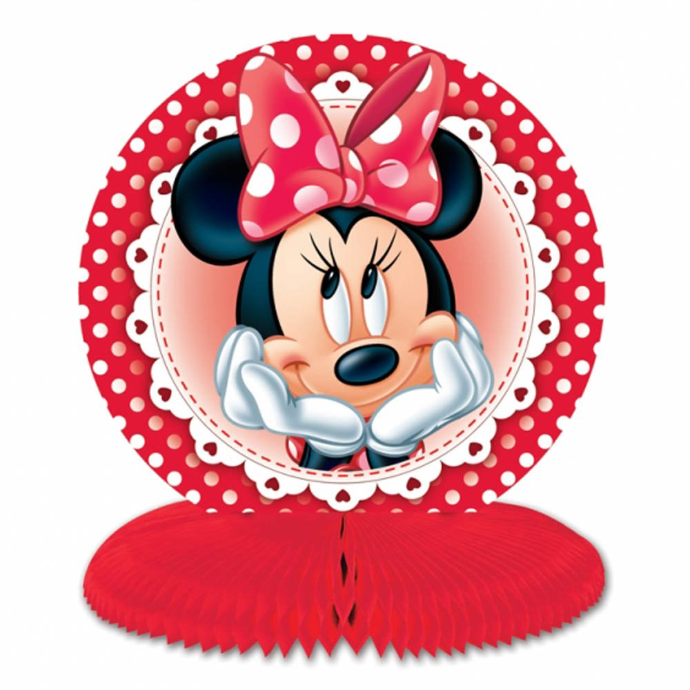 Minnie Mouse Birthday Decorations Red