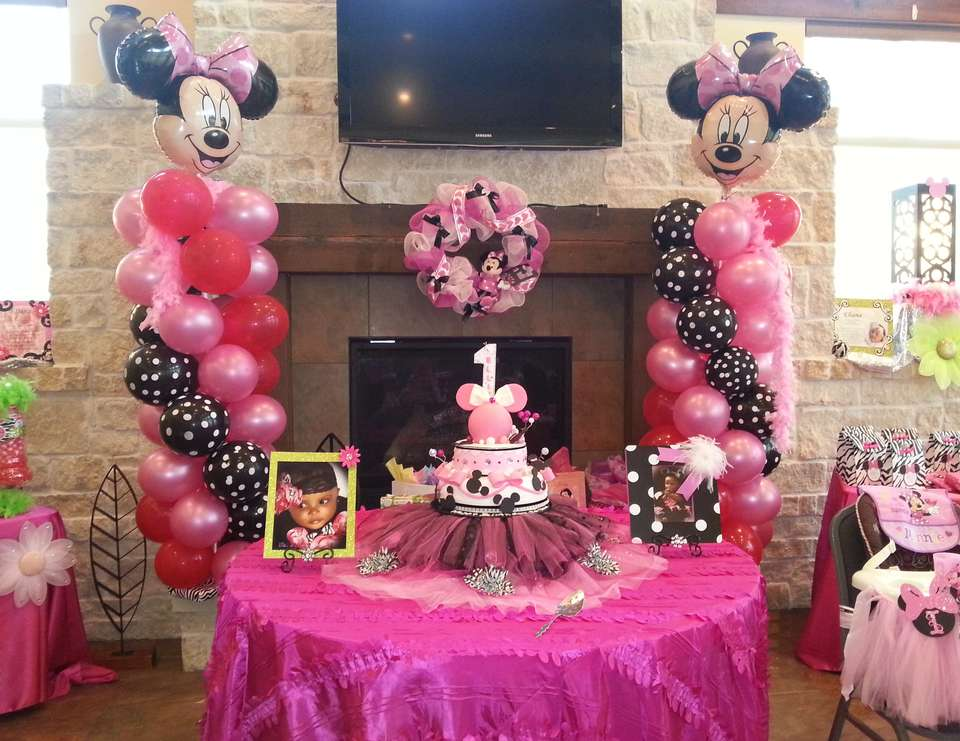 Minnie Mouse First Party Ideas