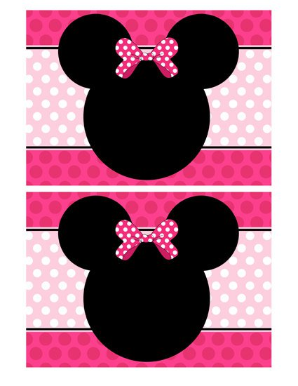 Minnie Mouse Invitation Templates Blank