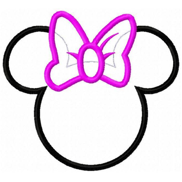 Minnie Mouse Printable Cutouts