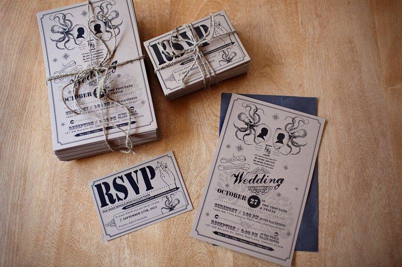 Modern Vintage Wedding Invitations Australia