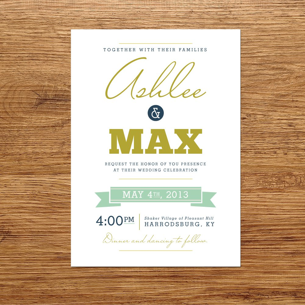 Modern Wedding Invite Wording: Modern Wedding Invitation Wording