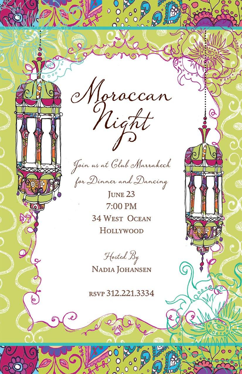 Moroccan Invitations