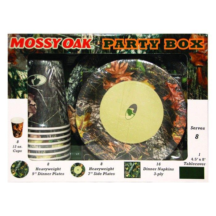 Mossy Oak Baby Shower Invitations