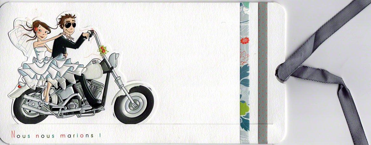 Biker Wedding Invitations: Motorcycle Wedding Invitations