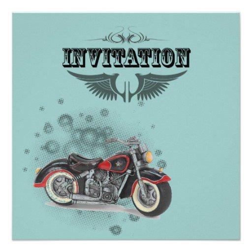 Motorcycle Wedding Invitations Uk
