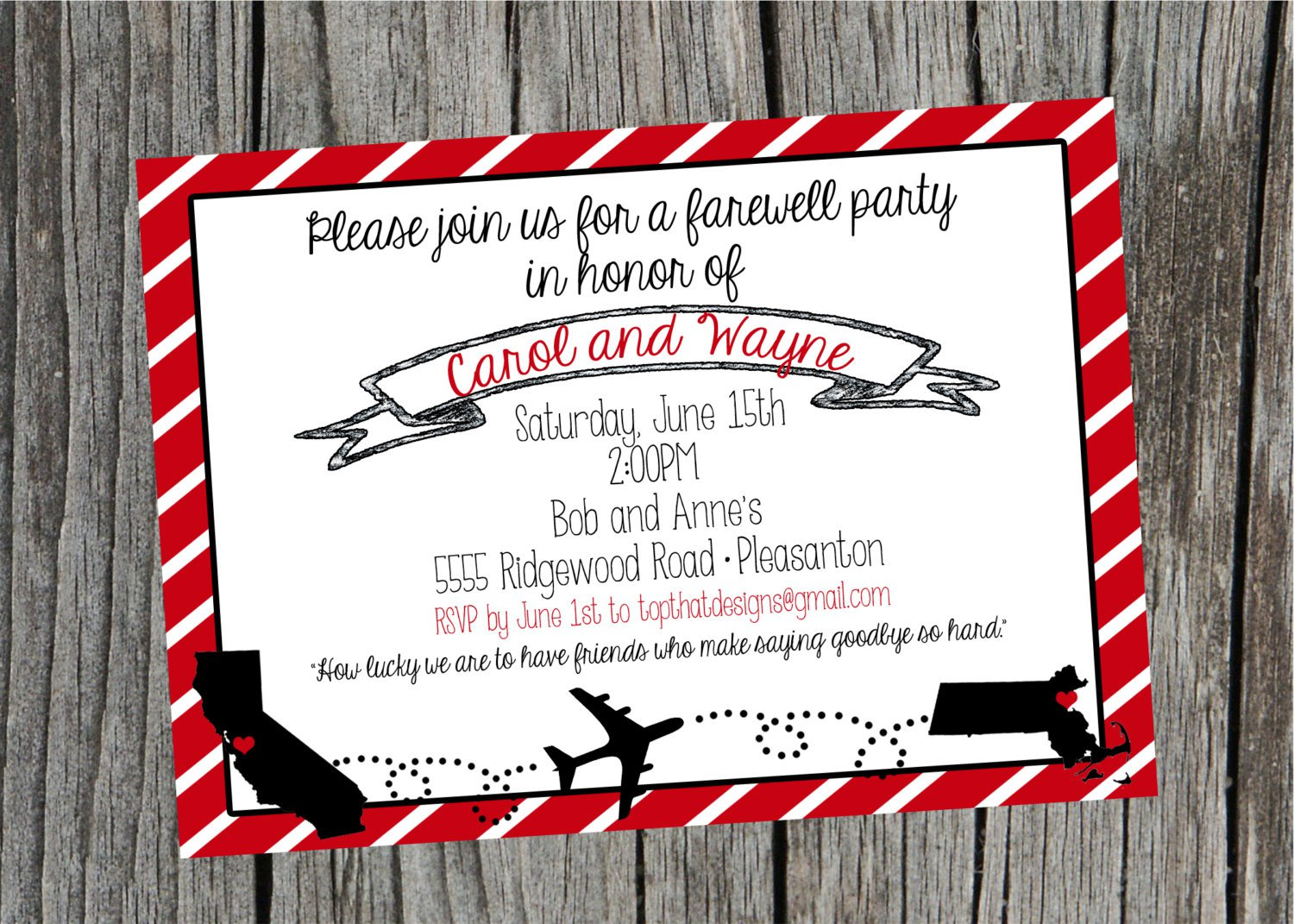 Moving Party Invitation Templates