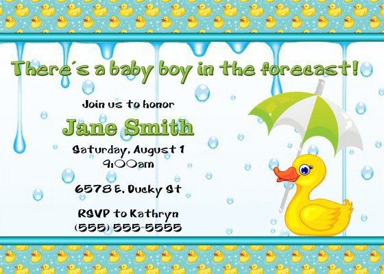 Mustache Invitations For Baby Shower
