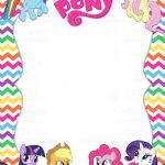 My Little Pony Birthday Party Invitations - My little pony birthday party invitation template