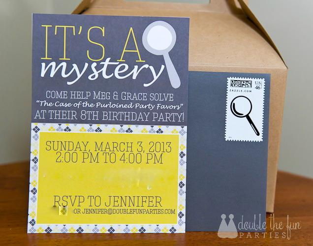 Mystery Party Invitation Templates