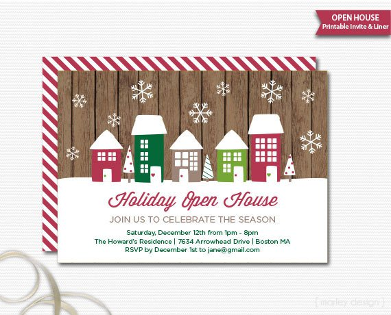 New Office Open House Invitation Printable