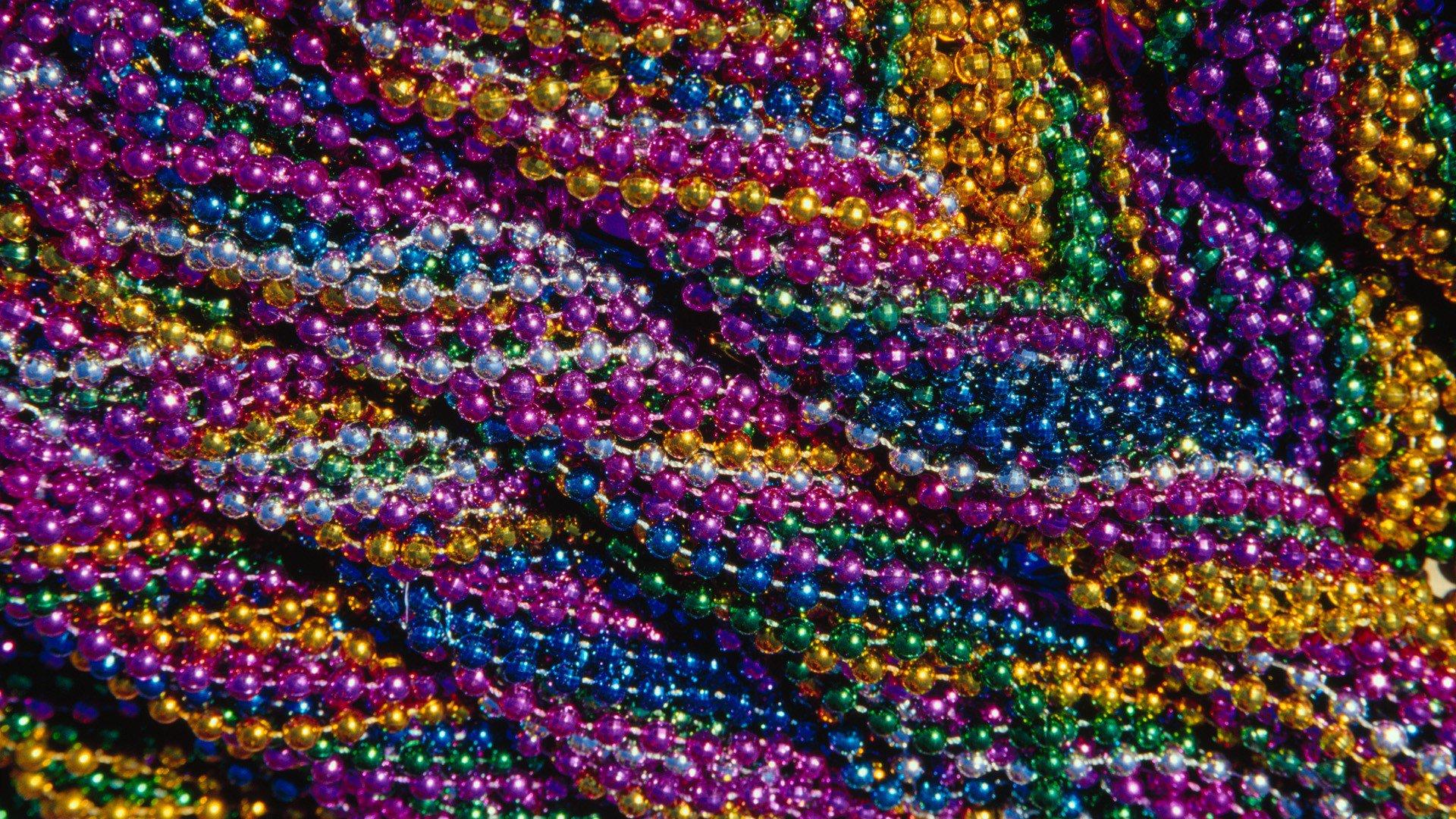 New Orleans Mardi Gras Border