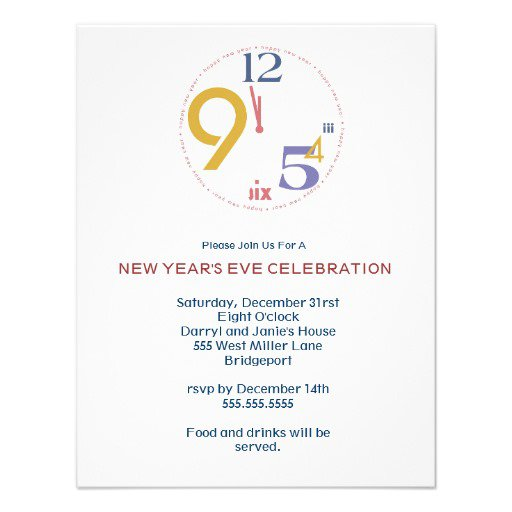 New Years Eve Invitations Free