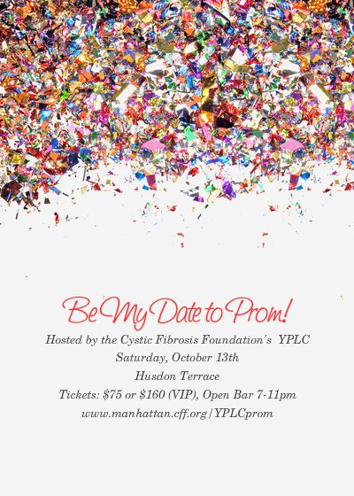 Night Prom Invitation From The Past