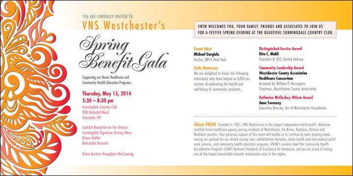 Non-profit Fundraising Invitations