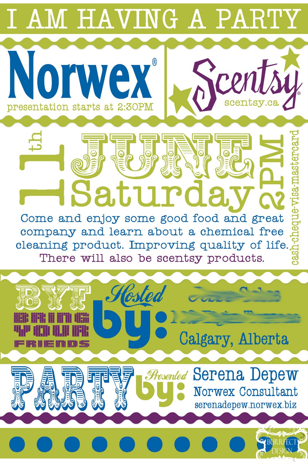 Norwex Invitation Templates
