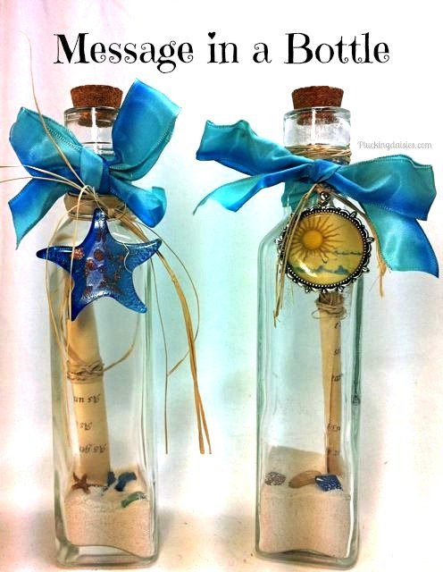 Note In A Bottle Invitations