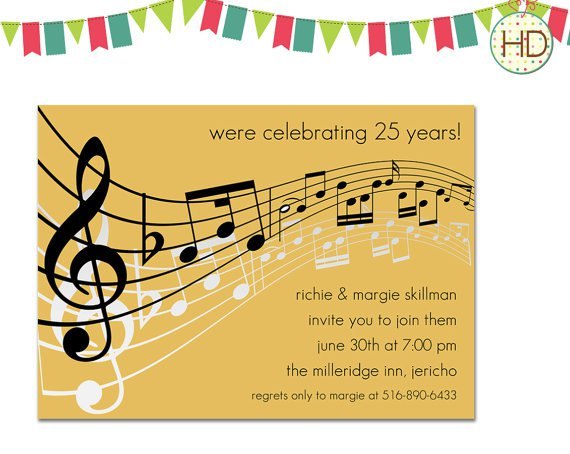 Notes About The Birthday Party Invitation