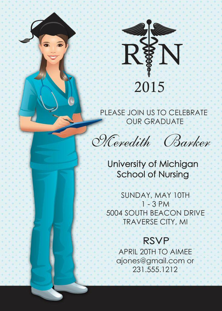 Nursing Graduation Invitation Ideas