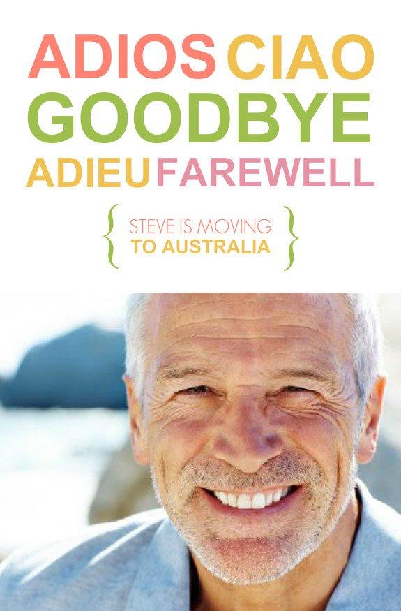Office Farewell Invitation Templates