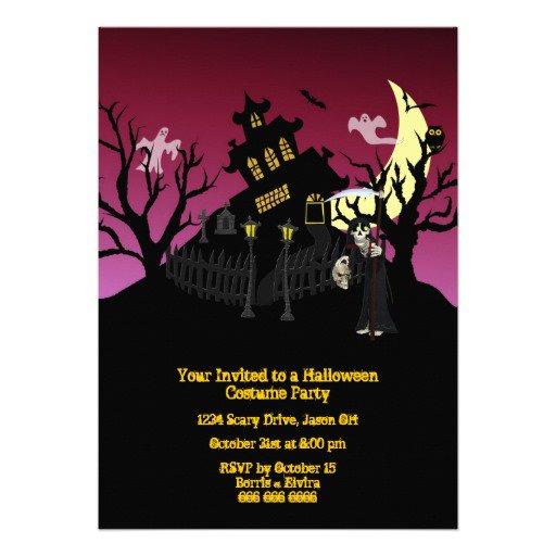 Office Halloween Costume Contest Invitation