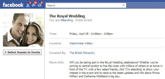 Official Royal Wedding Invitation Wording