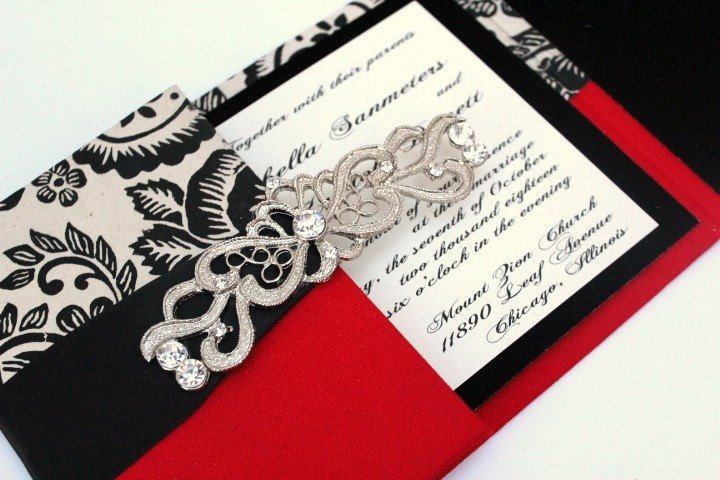 Old Hollywood Glamour Party Invitations