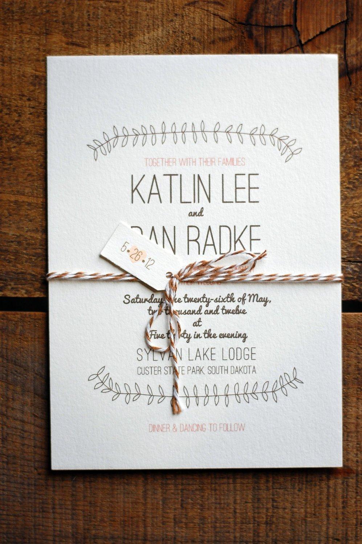 Original Wedding Invitations