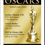 Oscar Award Invitations