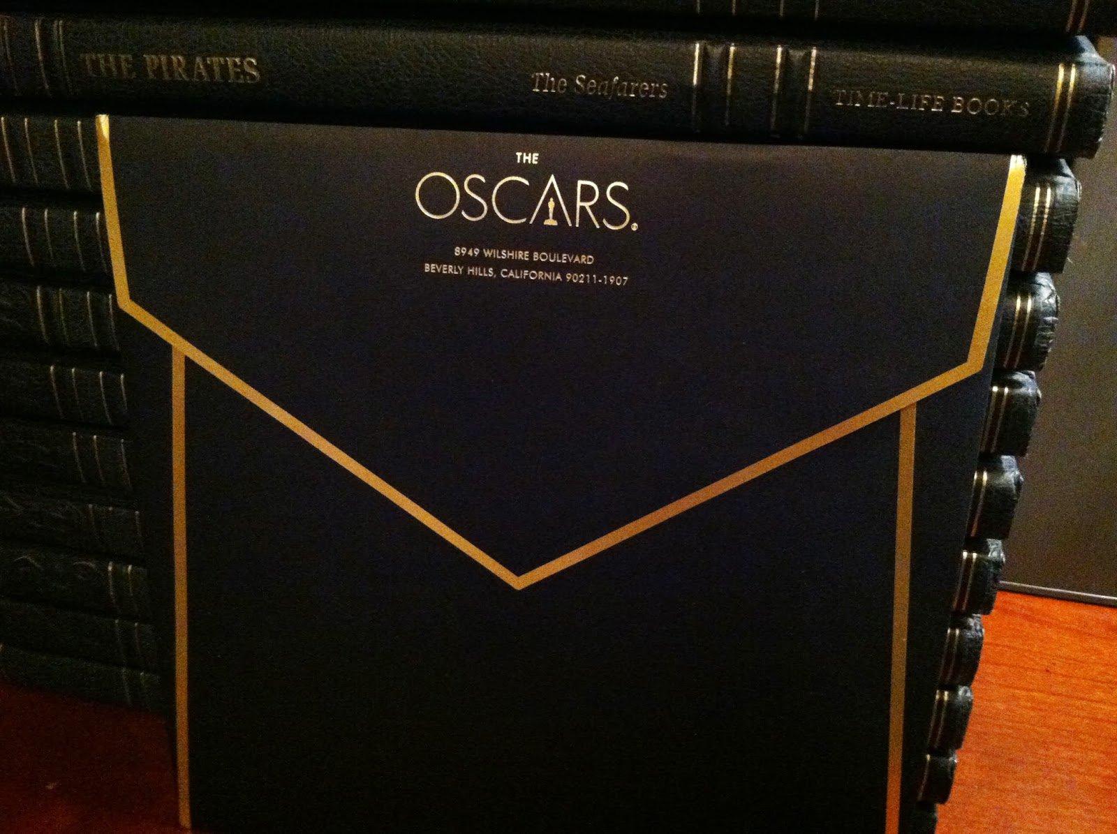 Oscar Invitation Card