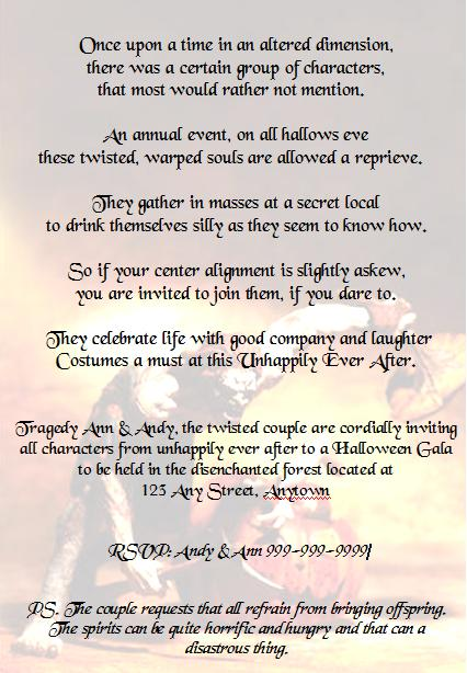 Oscar Themed Party Invitation Wording