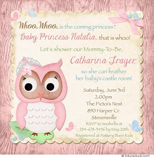 Owl Invitations For Birthday