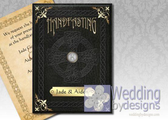 Pagan Wedding Invitations