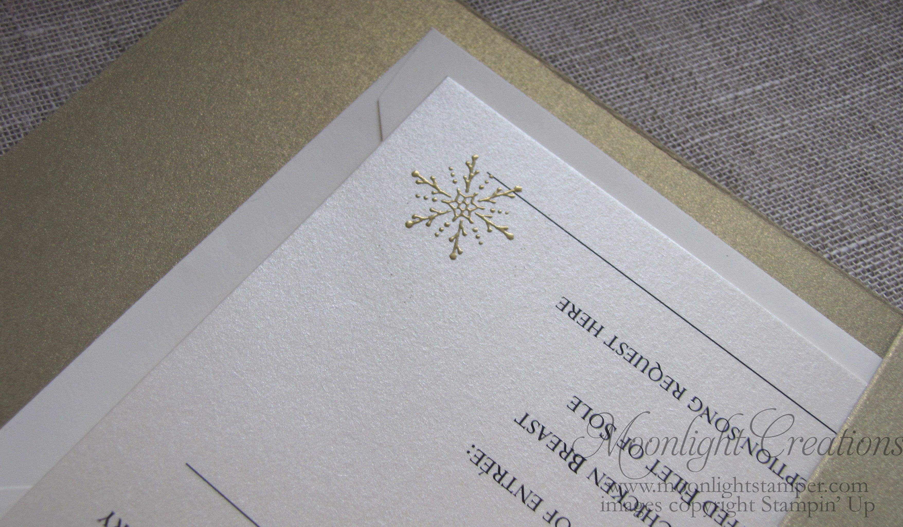 Panel Pocket Wedding Invitations