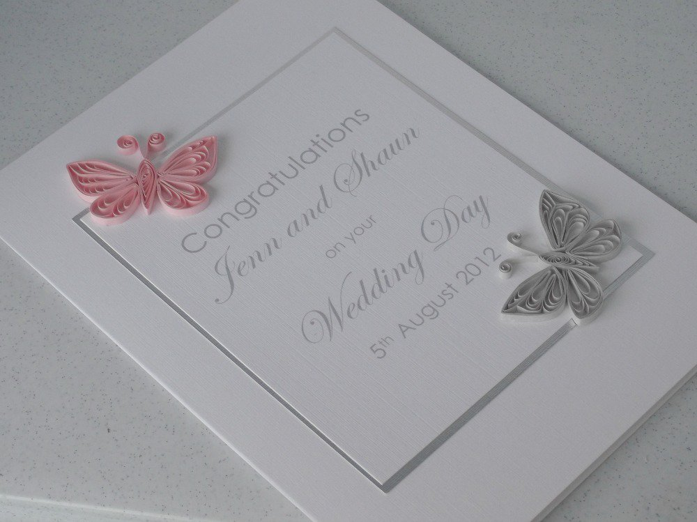 Paper Quilling Wedding Invitation Cards