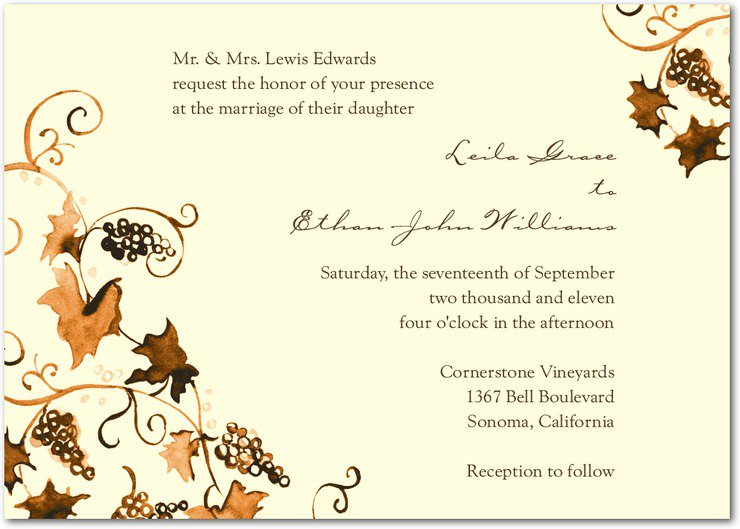 Paper Wedding Invitation