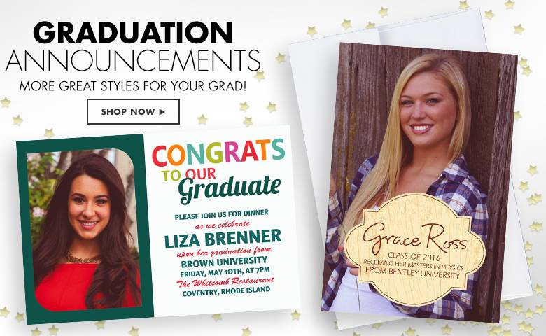 Party City High School Graduation Invitations