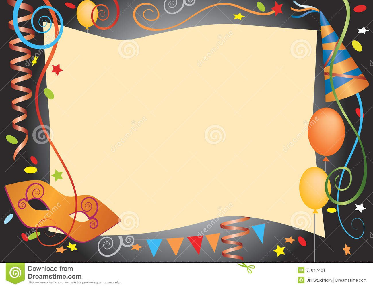 Party Invitation Paper Download