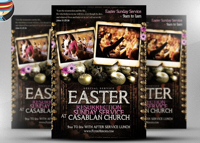 Pentecost Invitation Cards Templates