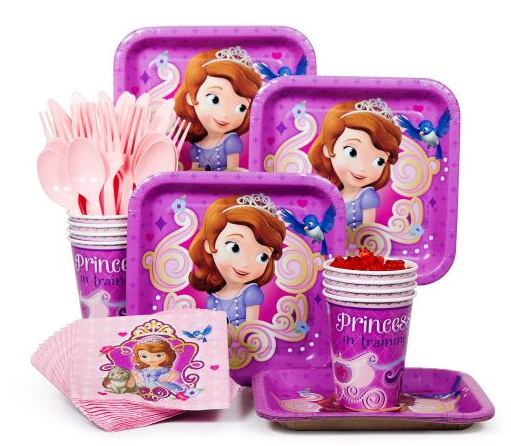 Personalized Sofia The First Party Supplies