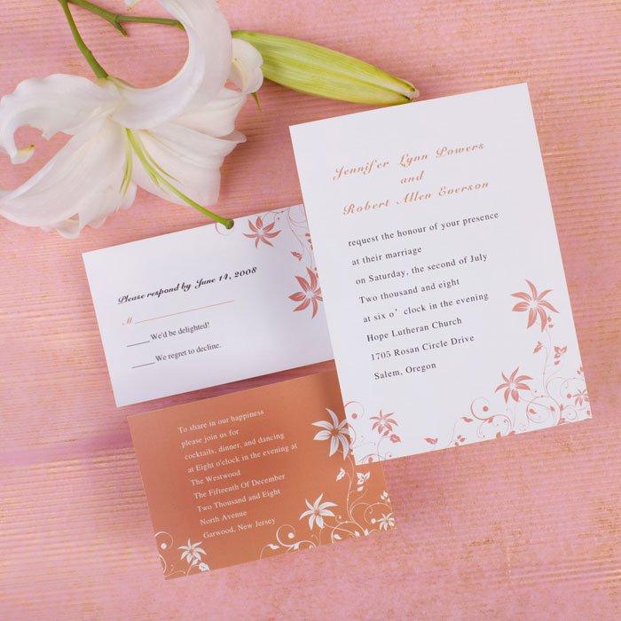 Personalized Wedding Invitations Wording