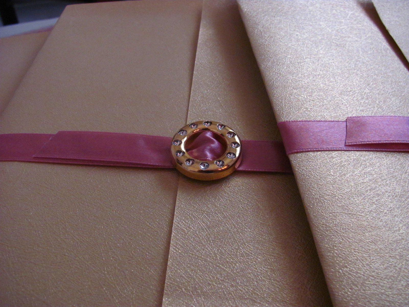 Pink Rose Wedding Invitations