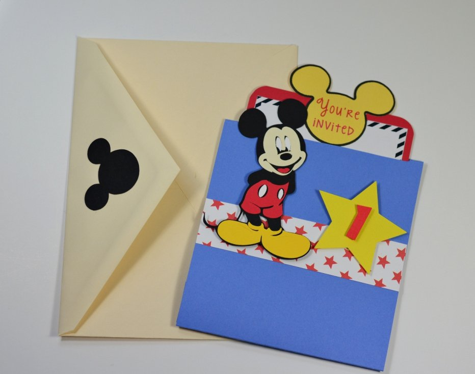 Pinterest Mickey Mouse Party Invitations