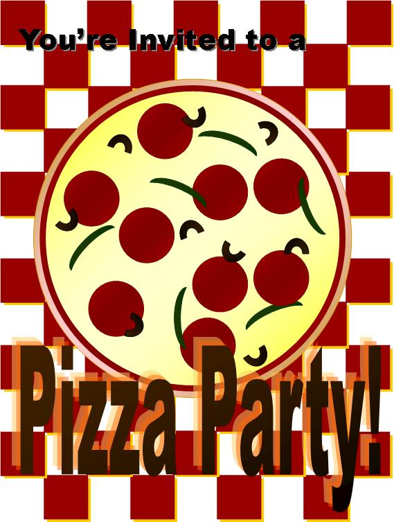 Pizza Party Invitation Templates Free